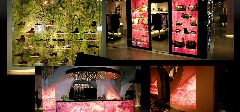 Üzletbelsők, display-ek